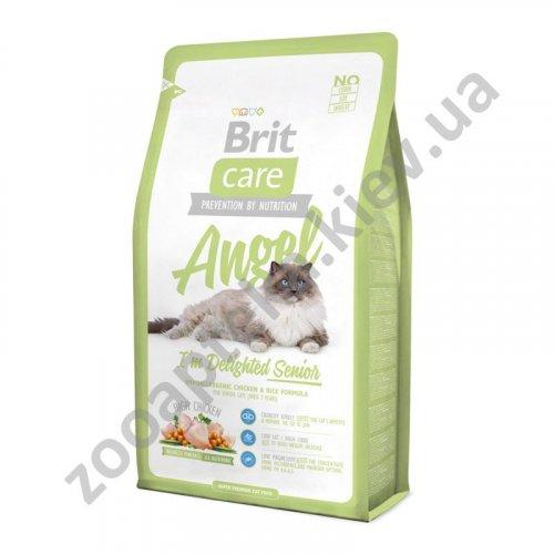 Brit Care Angel Senior - корм Брит с курицей и рисом для пожилых кошек
