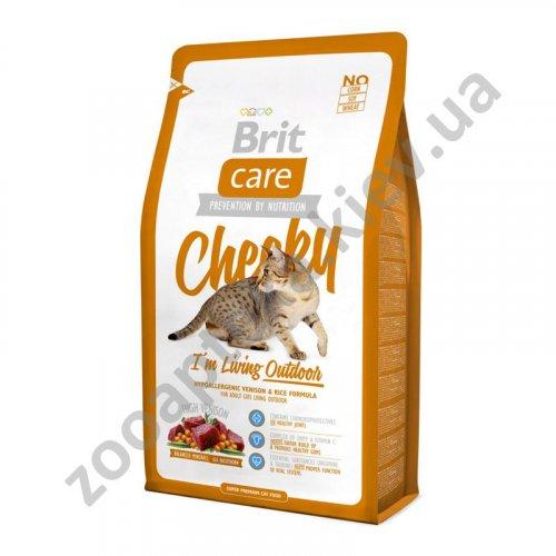 Brit Care Cheeky Outdoor - корм Брит для кошек, живущих на улице