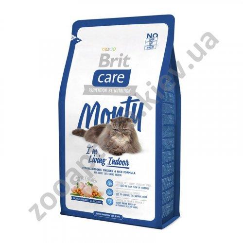 Brit Care Monty Indoor - корм Брит для кошек, живущих в помещении