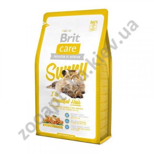Brit Care Sunny Beautiful Hair - корм Брит дополнительный уход за шерстью кошек