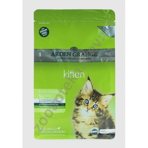 Arden Grange Kitten Fresh Chicken Potato - корм Арден Грендж для котят
