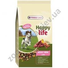 Happy Life Adult Mini Lamb - корм Хэппи Лайф для взрослых собак мелких пород с ягненком