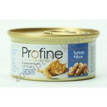 Profine - консервы для кошек Профайн, с индейкой и рисом