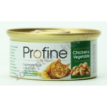 Profine - консервы для кошек Профайн, с курицей и овощами