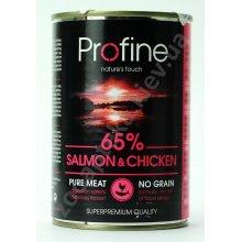 Profine - консервы для собак Профайн, с лососем и курицей