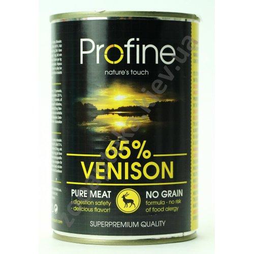 Profine - консервы для собак Профайн, с олениной и картофелем