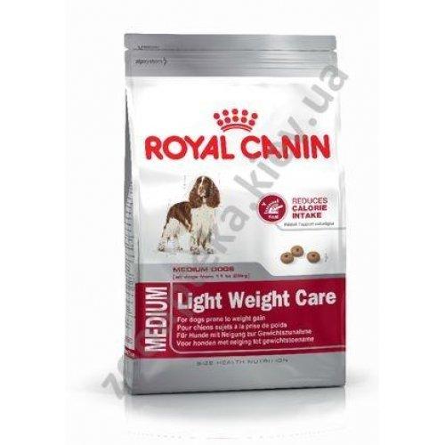 Royal Canin Medium Light Weight Care - корм Роял Канин для средних собак с лишним весом