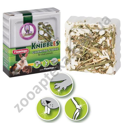 Karlie-Flamingo Knibbles Alfalfa - мел с люцерной для гигиены зубов Карли-Фламинго для грызунов
