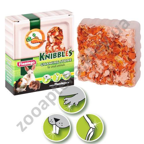 Karlie-Flamingo Knibbles Carrot Cubes - крейда з морквою для гігієни зубів Карлі-Фламінго для гризунів