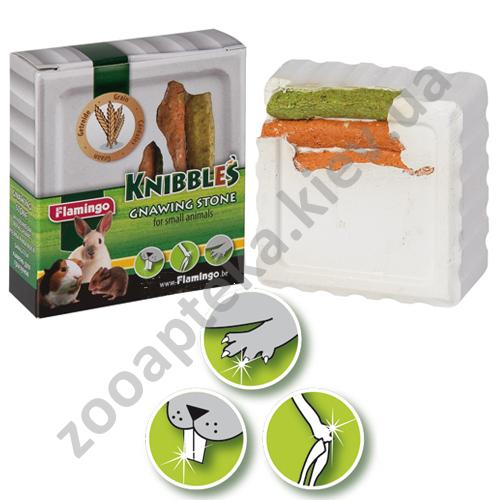 Karlie-Flamingo Knobbles Cereal - мел Карли-Фламинго со злаками для гигиены зубов грызунов