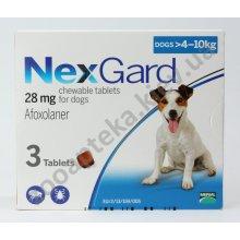 Merial NexGard - жевательные таблетки НексГард против блох и клещей