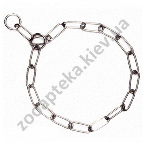 Karlie-Flamingo Long Link Chain - металлический ошейник-цепочка Карли-Фламинго для собак