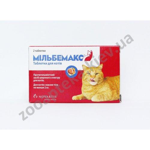 Novartis Milbemax - препарат против глистов Мильбемакс для кошек