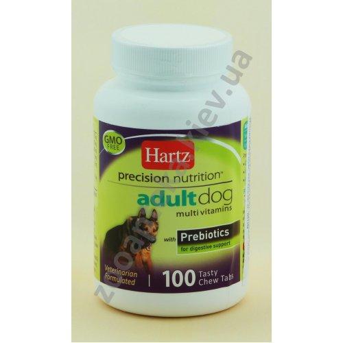 Hartz Adult Dog MultivitamIns - мультивитамины Хартц для собак 1-7 лет