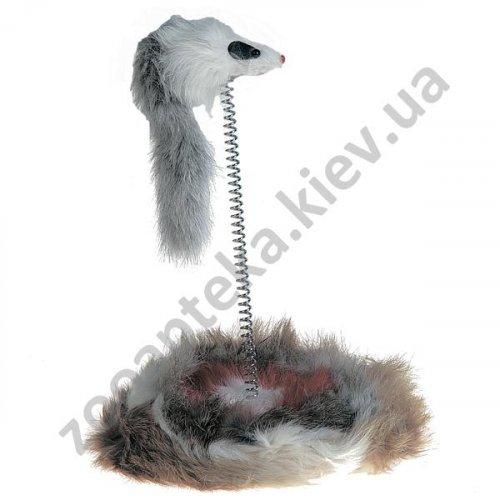 Karlie-Flamingo Mouse On Stick - мышка на подставке с дротиком Карли-Фламинго для кошек