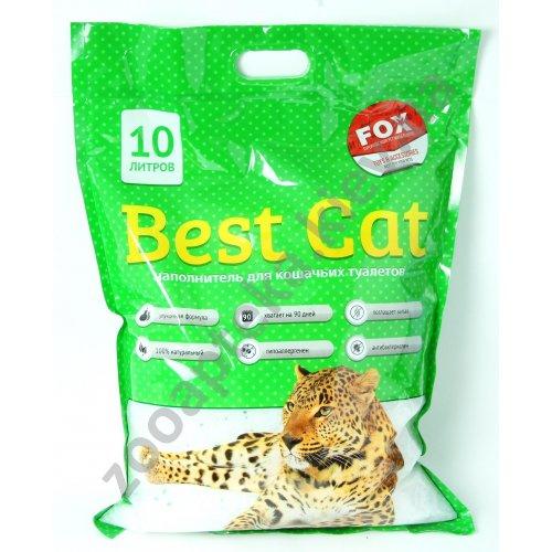 Best Cat - наполнитель для туалета Бест Кет, зеленый