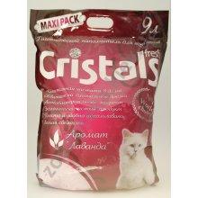 Kotix Cristals Fresh - гигиенический наполнитель с лавандой Котикс
