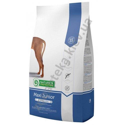 Natures Protection Maxi Junior - корм Нейчерс Протекшн для щенков крупных пород