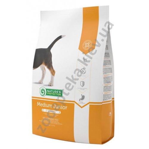 Natures Protection Medium Junior - корм Нейчерс Протекшн для щенков средних пород