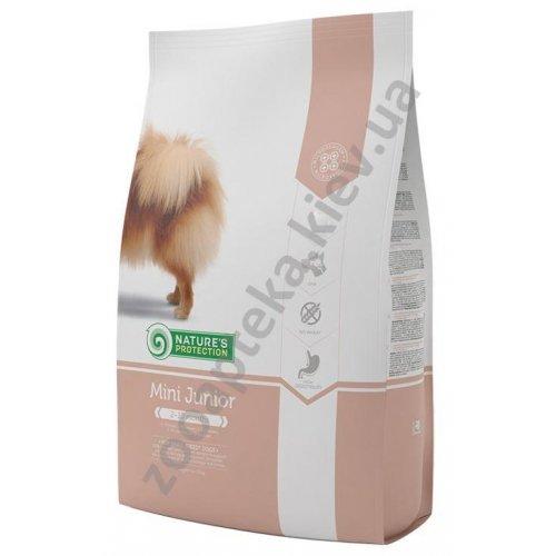Natures Protection Mini Junior - корм Нейчерс Протекшн для щенков мелких пород