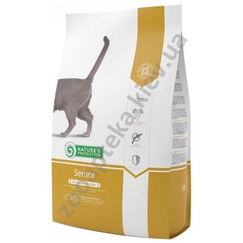 Natures Protection Senior - корм Нейчерс Протекшн для пожилых кошек