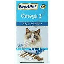 NoviPet Omega 3 - витаминный комплекс НовиПет с омега-3 для кошек