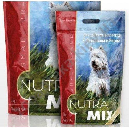 Nutra Mix Gold Small Breed Lamb & Rice - гипоаллергенный корм Нутра Микс для собак мелких пород