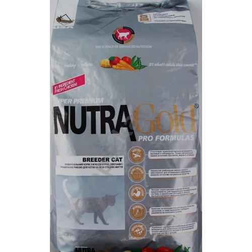 Nutra Gold Pro Formula - корм Нутра Голд для взрослых кошек и котят