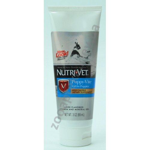 Nutri-Vet Puppy-Vite gel - Нутри-Вет Витамины для щенков в геле