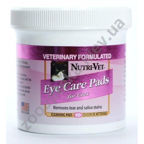Nutri-Vet - влажные салфетки Нутри-Вет Очистка Пятен для удаления пятен от слез и слюны для кошек