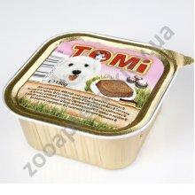 TOMi - паштет ТОМи с телятиной и бараниной для собак