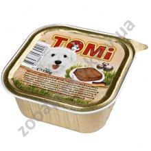 TOMi - паштет ТОМи с индюшатиной, макаронами и морковью для собак