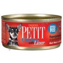 Petit Chicken with Liver - консервы Петит с курицей и печенью