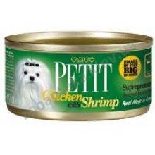 Petit Chicken with Shrimp - консервы Петит с курицей и креветками