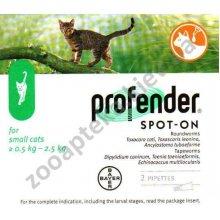 Bayer Profender - антигельминтик Байер Профендер для кошек весом до 2,5 кг