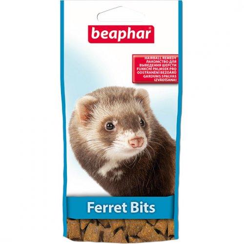 Beaphar Xtra Vital Ferret Bits - лакомство Бифар с мальт пастой для хорьков