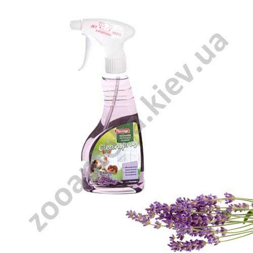 Karlie-Flamingo Сlean Spray Lavender - спрей с запахом лаванды для мытья клеток Карли-Фламинго