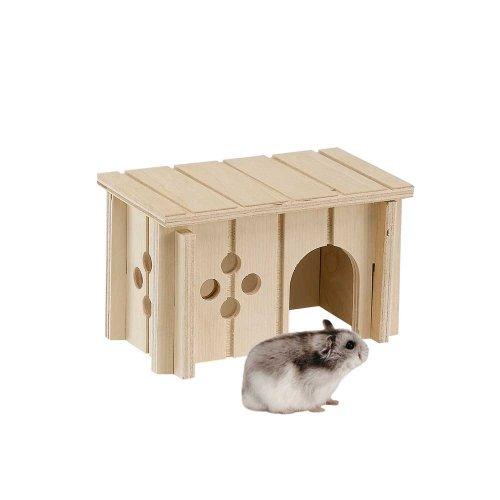 Ferplast Wodden House - деревянный домик Ферпласт для грызунов