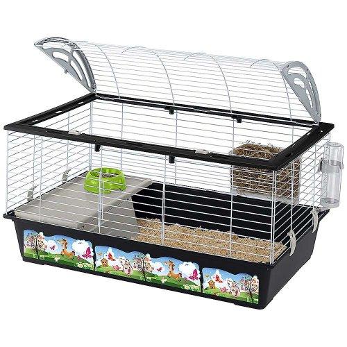 Ferplast Casita 100 Dekor - клетка Ферпласт для кроликов