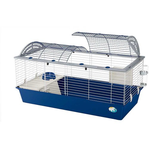Ferplast Casita 120 White - клетка Ферпласт для кроликов и морских свинок