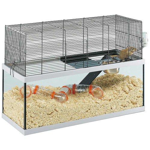 Ferplast Gabry 80 - стеклянная клетка Ферпласт для грызунов