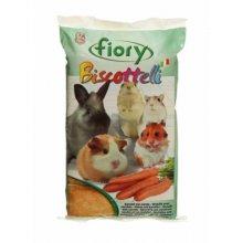 Fiory Biscottelli - бисквиты Фиори для грызунов с морковью