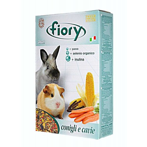 Fiory Conigli е cavie - смесь Фиори для морских свинок и кроликов