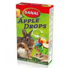 Sanal Apple Drops - мультивитаминное лакомство Санал с яблоком для грызунов
