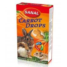 Sanal Carrot Drops - мультивитаминное лакомство Санал с морковью для грызунов