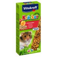 Vitakraft - крекер Витакрафт с фруктами для хомяков
