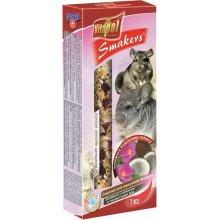 Vitapol Fruit Smakers - дополнительный корм Витапол с кокосом и лепестками роз для шиншилл