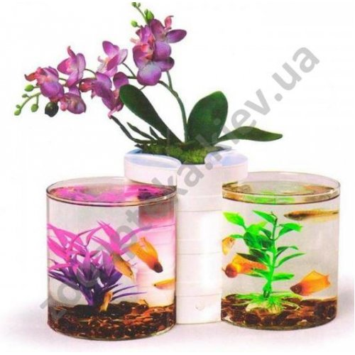 Resun Nature World NW-04 - двойной аквариум Ресан