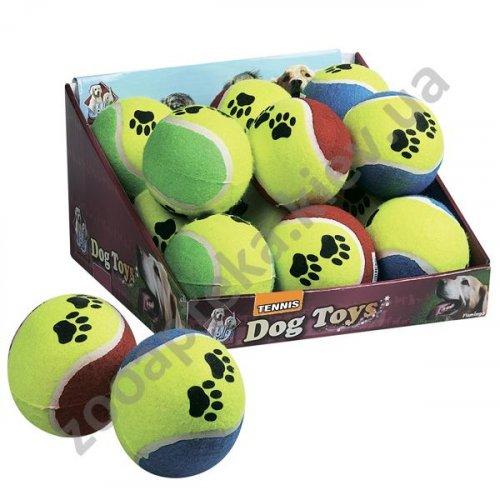 Karlie-Flamingo Tennisball Fluo - резиновый мяч Карли-Фламинго для собак