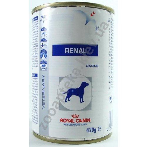 Royal Canin Renal - консервы Роял Канин для лечения почечной недостаточности у собак